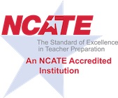 National Council for the Accreditation of Teacher Education (NCATE) logo
