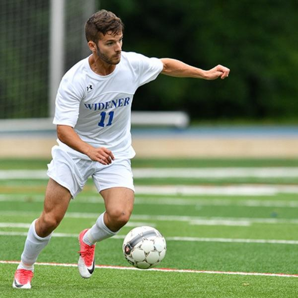 widener soccer player