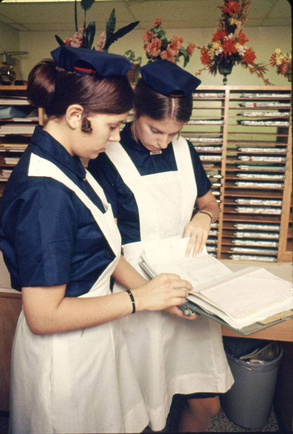 1966 PMC nursing students