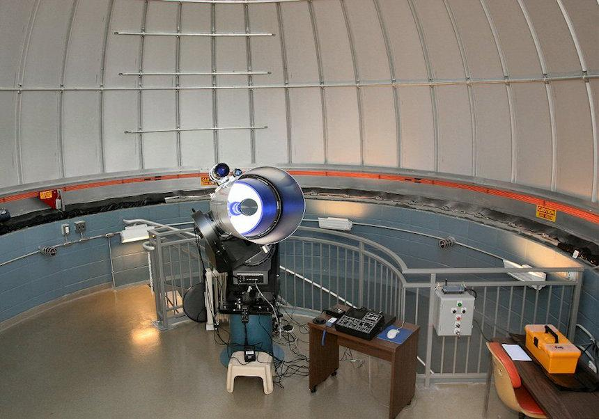 Telescope base