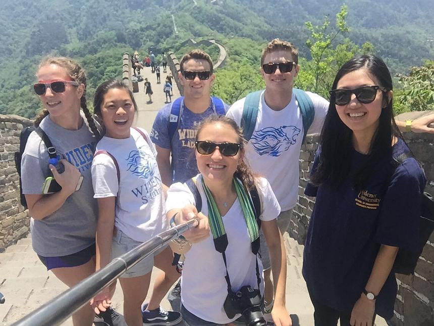 study abroad great wall china