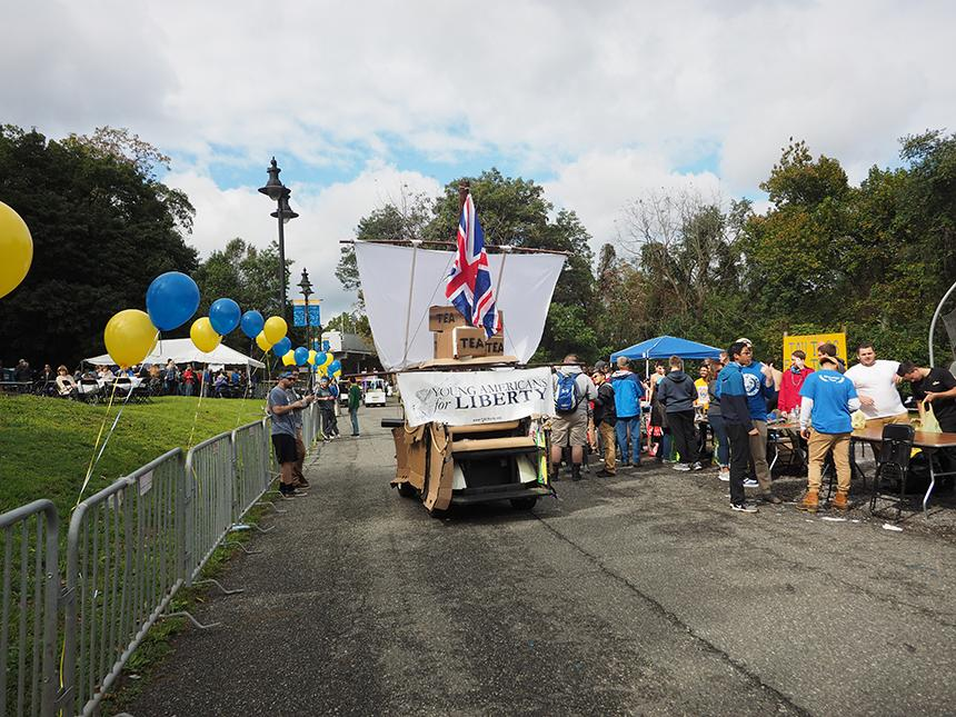 Young Americans for Liberty Homecoming Float