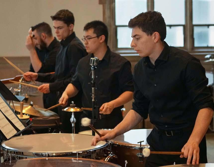 Widener Band Percussion