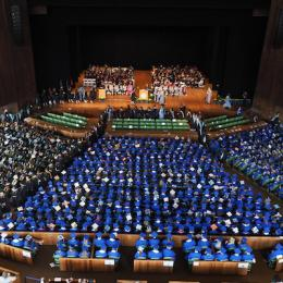 Widener University commencement at the Mann Center