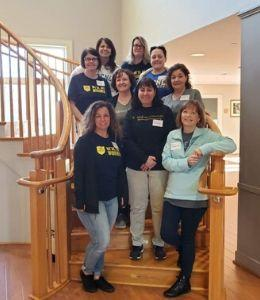 Volunteers at the Ronald McDonald House