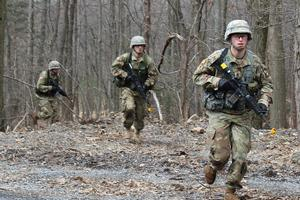 Army ROTC Hands-on Training