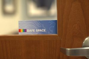 safe space sign