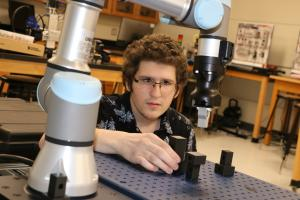 While at his co-op at Greene, Tweed, Savarese built upon his knowledge of robotics engineering programming technology that he learned in a previous semester.