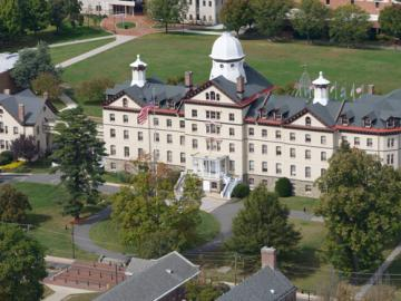 Main Campus Old Main Aerial