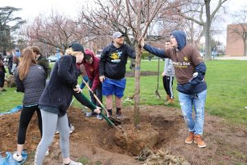 Sustainability Students Community Tree Planting