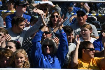 Widener parents at homecoming