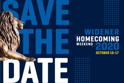Save the Date: Homecoming 2020, October 16-17