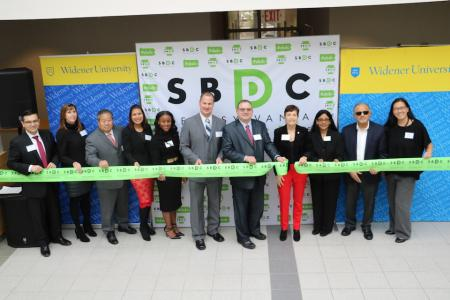 Small Business Development Center ribbon cutting