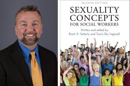 Professor Brent Satterly writes book on sexuality concepts for social workers