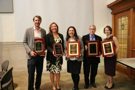 Faculty in the College of Arts & Sciences receive awards