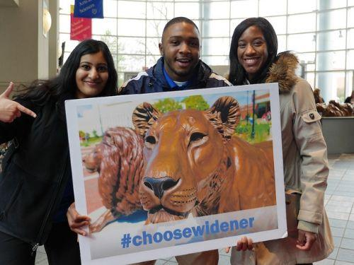 accepted students choose widener
