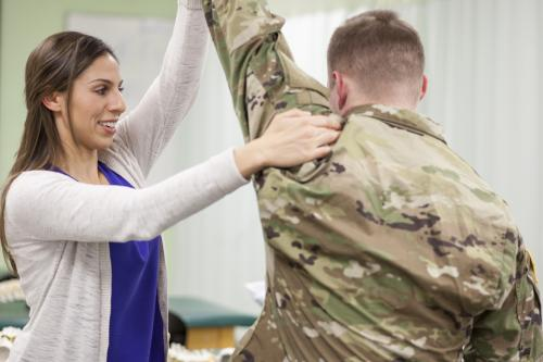 physical therapy alumna military