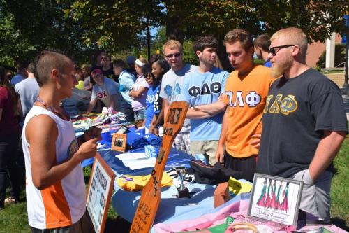 Summer Student Involvement Fair