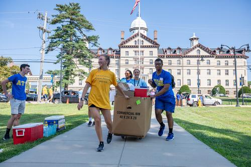 Move-In Day for Class of 2023