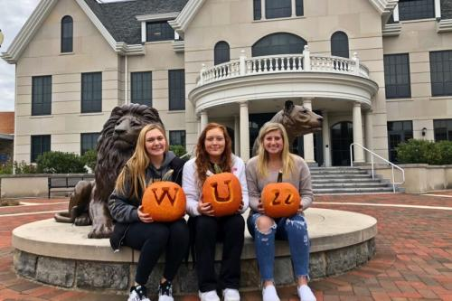Students celebrate Halloween on campus