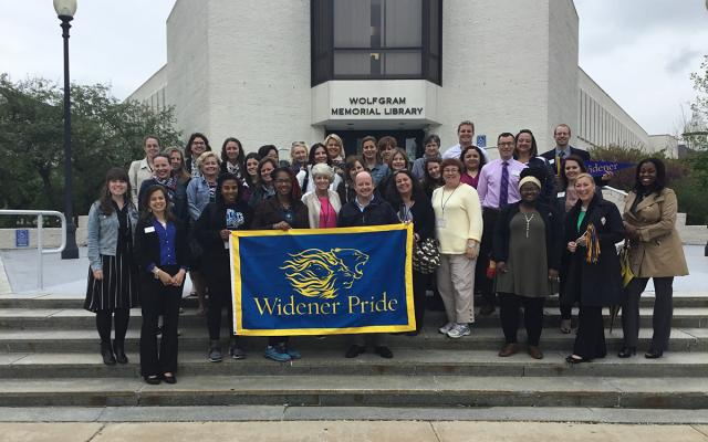 high school counselors tour campus