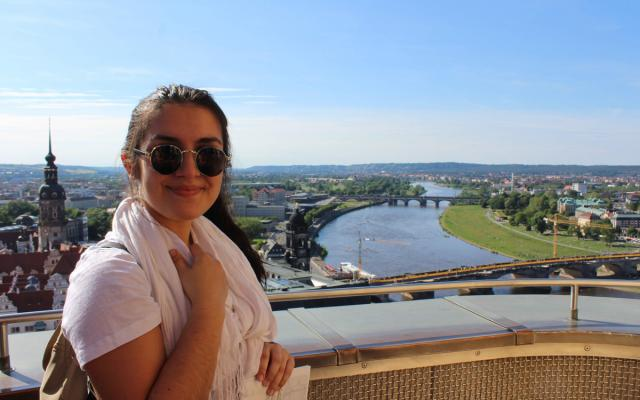 study abroad student in germany