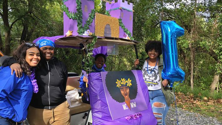 NCNW Homecoming Float