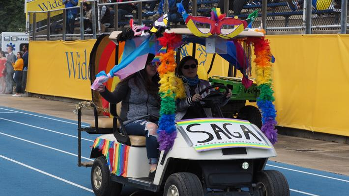 SAGA Homecoming Golf Cart
