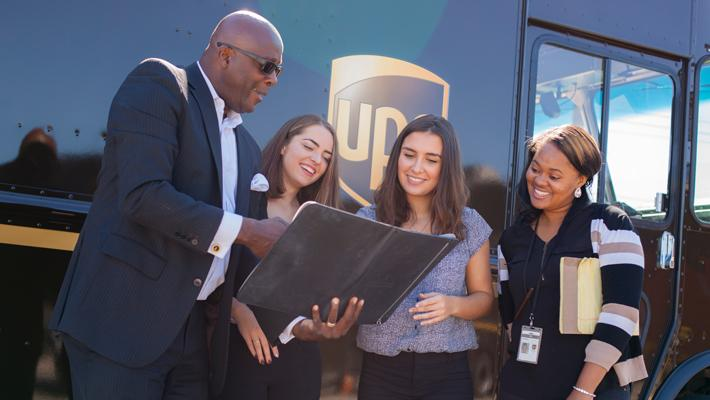 UPS students internship