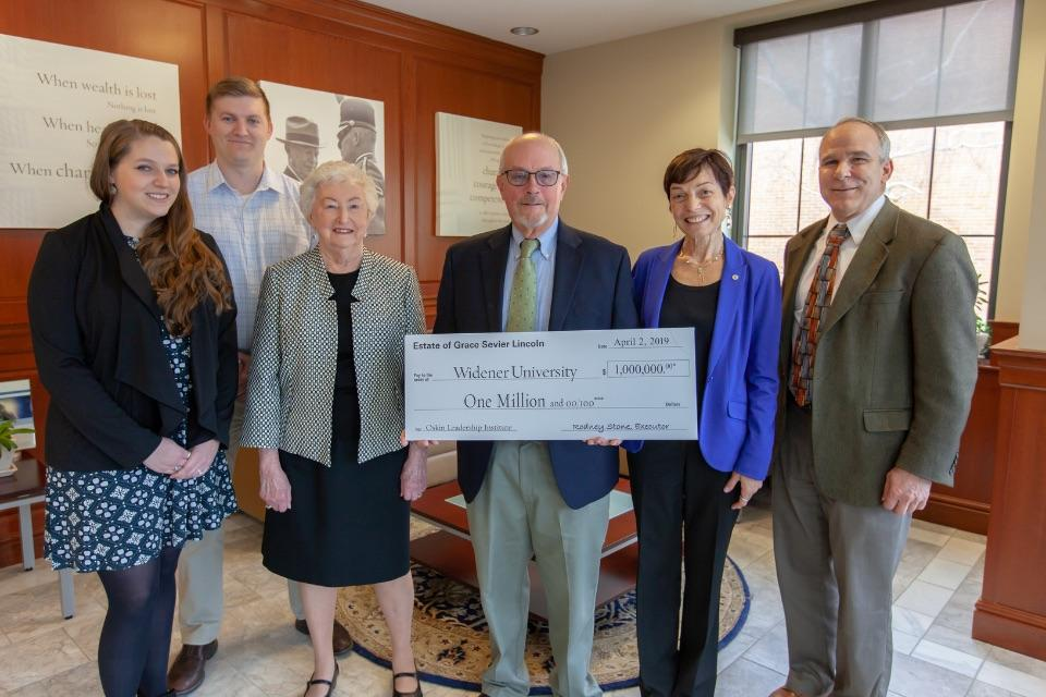 Family members give estate donation
