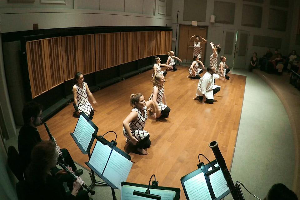 chamber music and dance recital