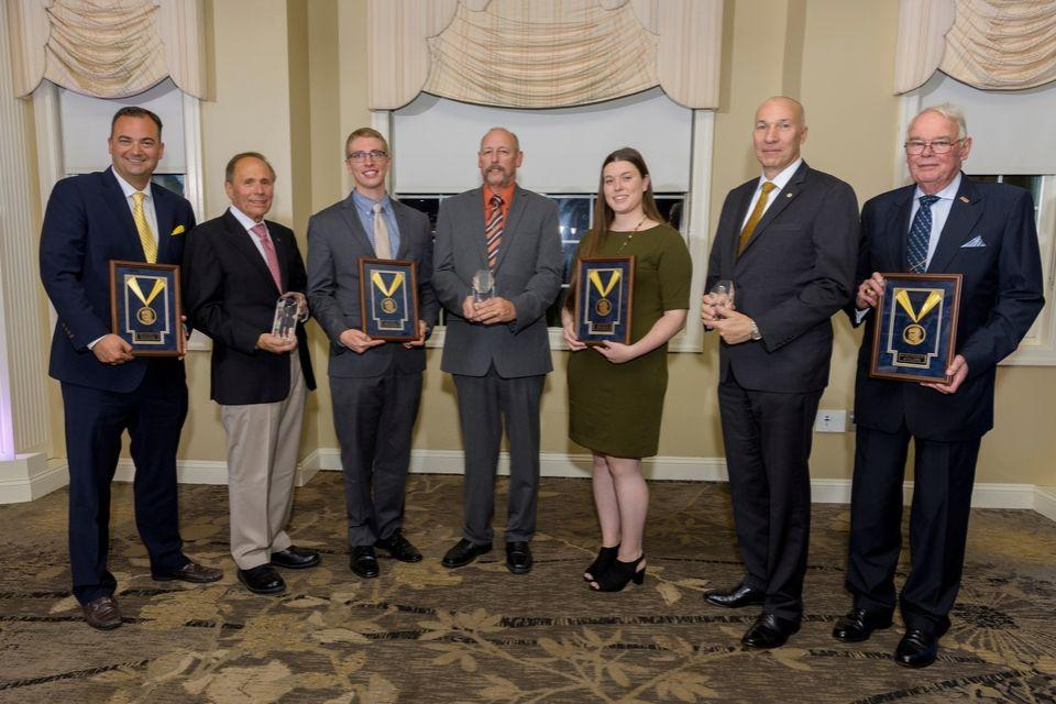 Seven individuals were honored at the 2019 Alumni Awards